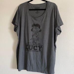 Torrid women's Peanuts Lucy Top
